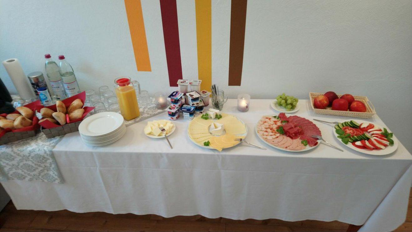 Unser Frühstücksbüffet